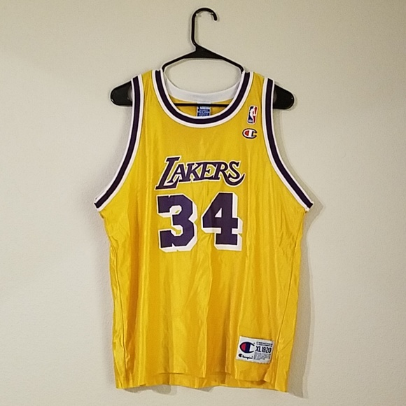 Champion Other - Shaq O Neal Los Angeles Lakers Champion Jersey 66e100b83